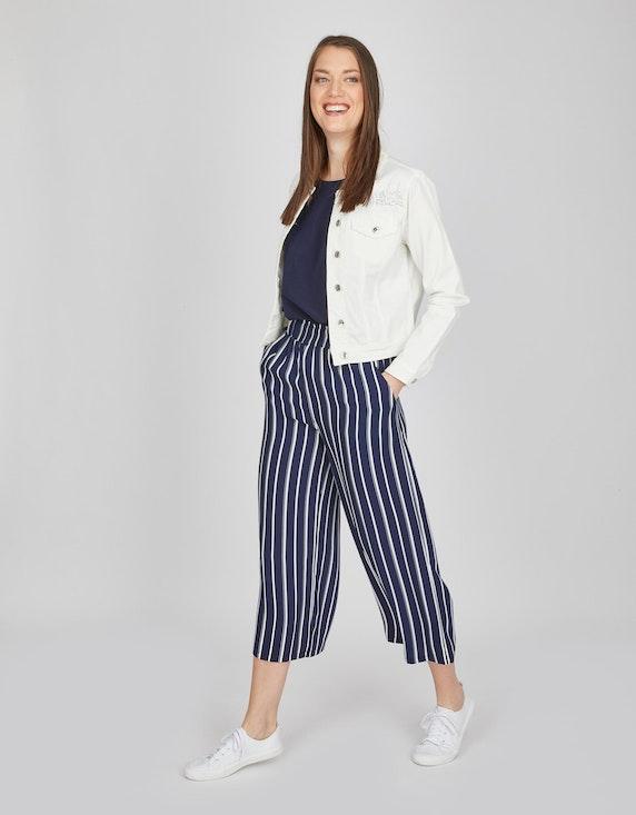 MY OWN Jeansjacke mit Spitzendetails   ADLER Mode Onlineshop