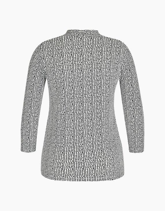 Bexleys woman Shirt mit Ärmel in 3/4-Länge mit Punktedruck | ADLER Mode Onlineshop