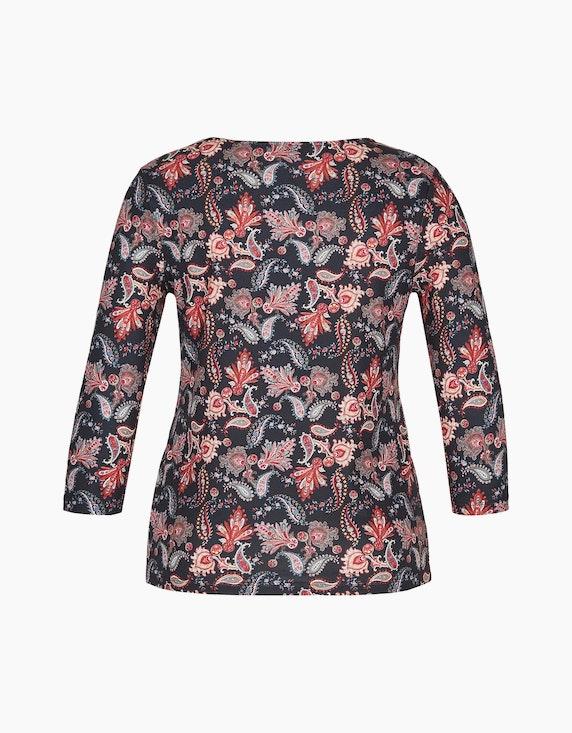 Malva Shirt mit Druck und Ärmeln in 3/4 Länge | ADLER Mode Onlineshop