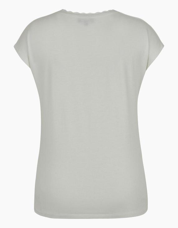 Birgit Schrowange Kollektion Shirt mit Wellen-Ausschnitt | ADLER Mode Onlineshop