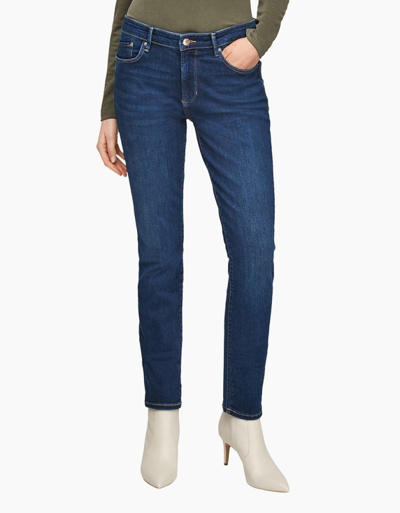 s.Oliver Slim Fit: Slim leg-Denim | ADLER Mode Onlineshop