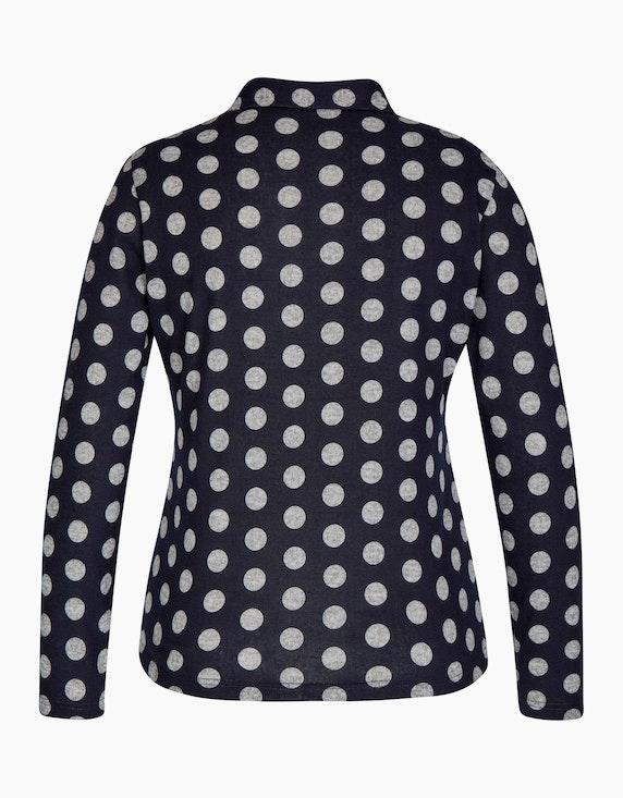 Bexleys woman Flauschbluse mit Polka Dots   ADLER Mode Onlineshop