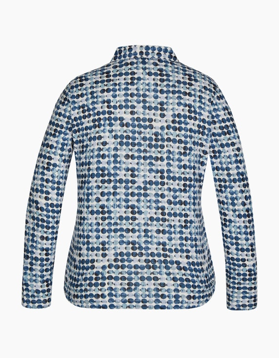 Bexleys woman Flauschbluse mit Allover-Punkte-Muster   ADLER Mode Onlineshop