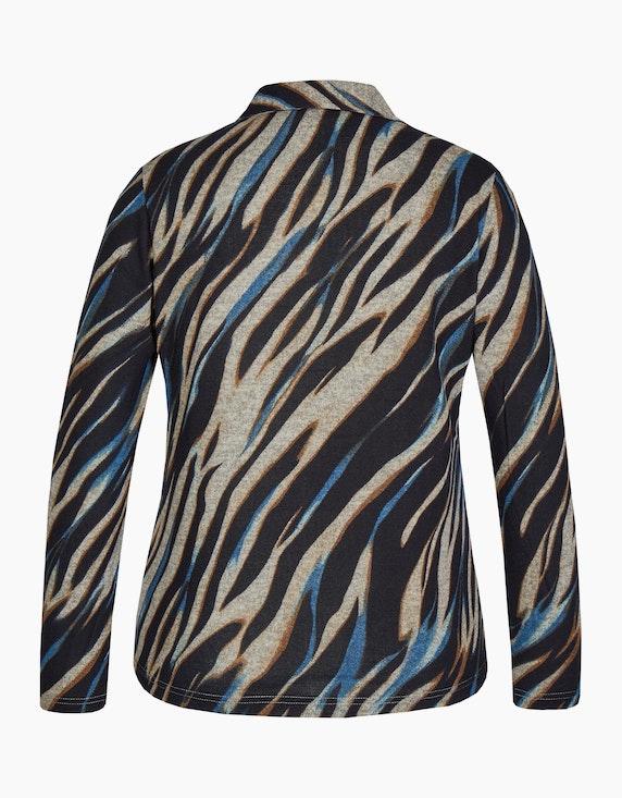 Bexleys woman Flauschbluse mit Zebra-Muster   ADLER Mode Onlineshop