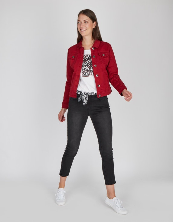 MY OWN Jeansjacke mit zwei Patten-Brusttaschen | ADLER Mode Onlineshop
