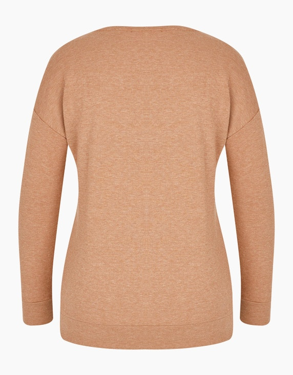MY OWN Sweatshirt mit Samtprint im Safari-Style | ADLER Mode Onlineshop