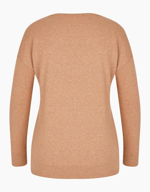 MY OWN Sweatshirt mit Samtprint im Safari-Style | ADLER Mode Onlineshop