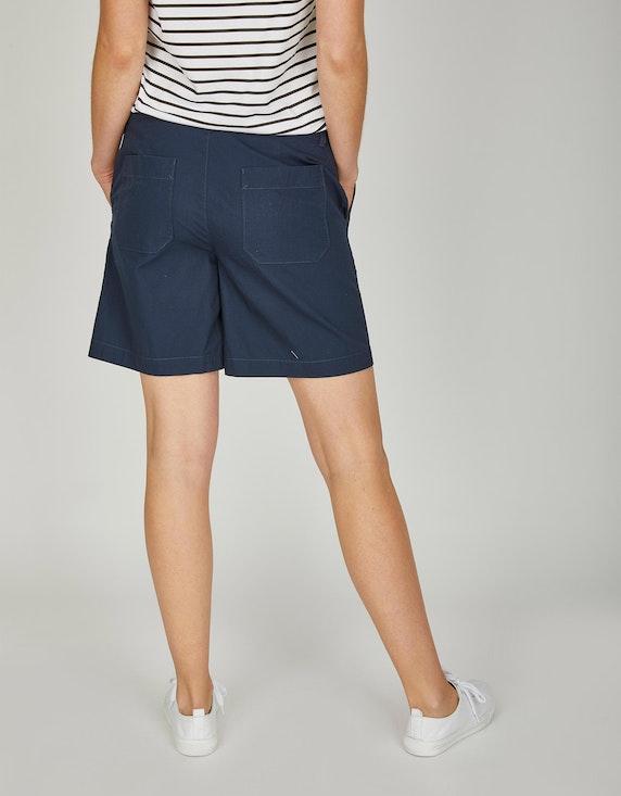 Via Cortesa Bermuda-Hose in Leinenoptik aus reiner Baumwolle   ADLER Mode Onlineshop