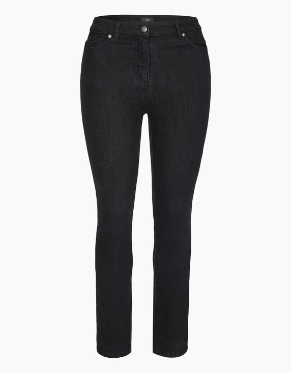 """Bexleys woman Thermo-Jeans """"Polo Super Comfort"""" in Black Denim 