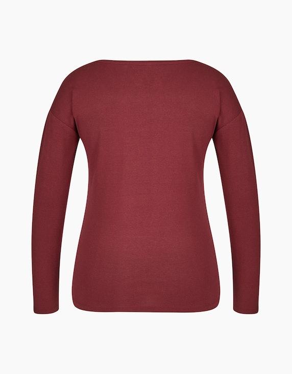 Bexleys woman Langarmshirt mit Foliendruck | ADLER Mode Onlineshop