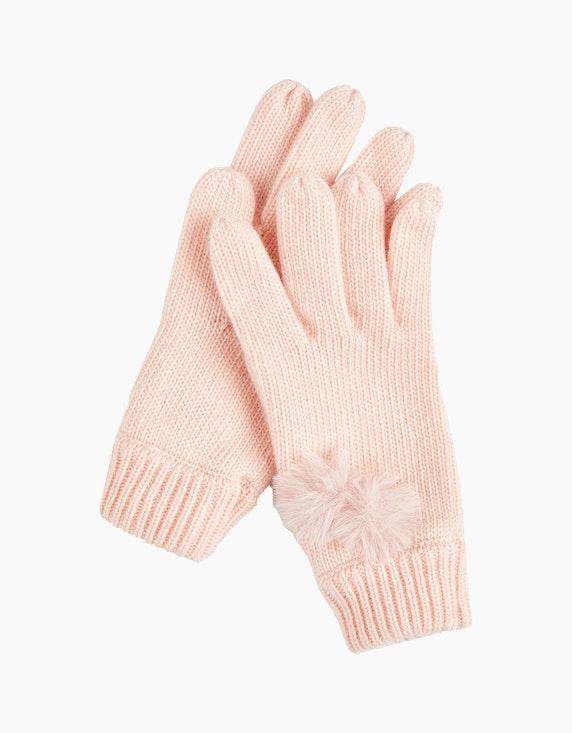 Steilmann Woman Bommel-Handschuhe in Rosa | ADLER Mode Onlineshop