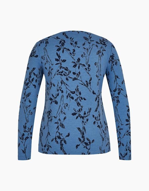 MY OWN Langarmshirt mit floralem Print | ADLER Mode Onlineshop