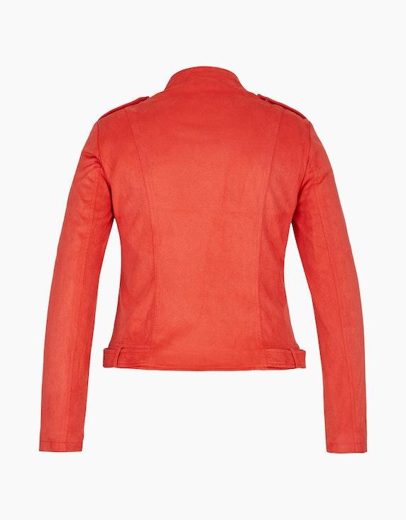 Viventy Lederimitat-Jacke im Biker-Style   ADLER Mode Onlineshop