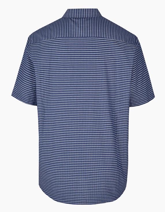 Big Fashion kariertes Freizeithemd im Kleinkaro   ADLER Mode Onlineshop