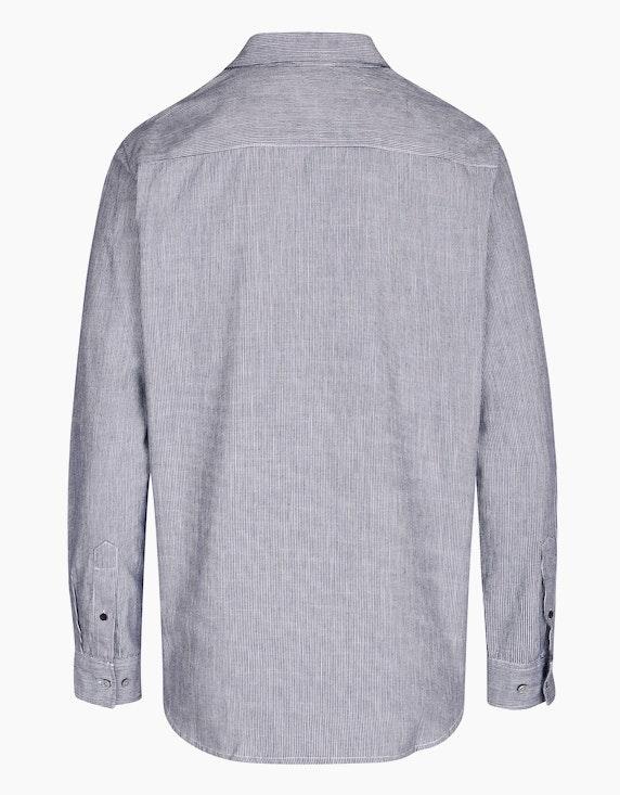 Eagle Denim Freizeithemd mit feinen Streifen | ADLER Mode Onlineshop