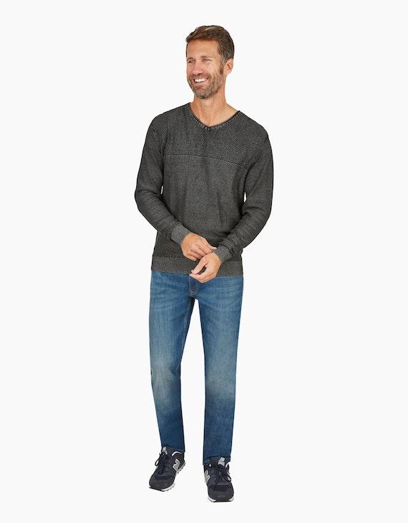 Eagle Denim 5-Pocket Jeans mit Stretchanteil in Medium Stone | ADLER Mode Onlineshop