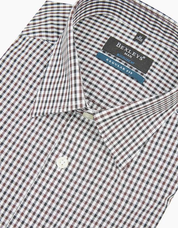 Bexleys man Dresshemd mit Karomuster, REGULAR FIT   ADLER Mode Onlineshop