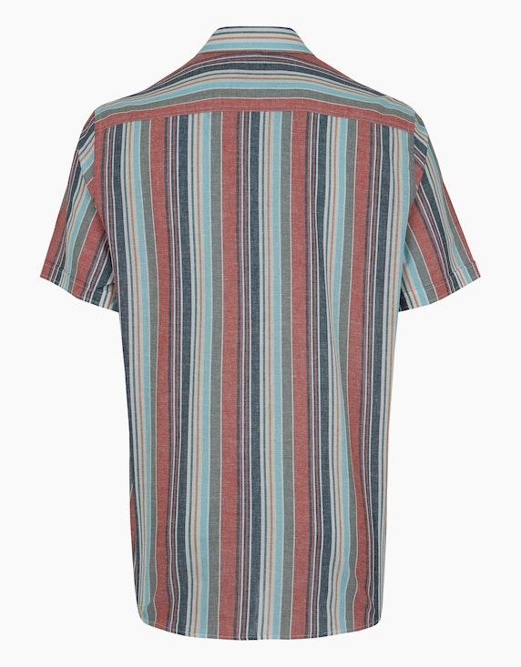 Bexleys man Freizeithemd, kurzarm, gestreift | ADLER Mode Onlineshop
