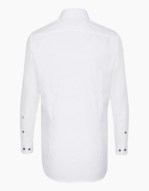 Seidensticker Unifarbenes Dresshemd mit Besatz, SLIM FIT | ADLER Mode Onlineshop