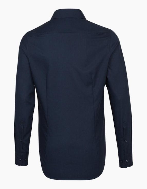 Seidensticker Unifarbenes Dresshemd mit Besatz im Krageninnensteg, SLIM FIT | ADLER Mode Onlineshop