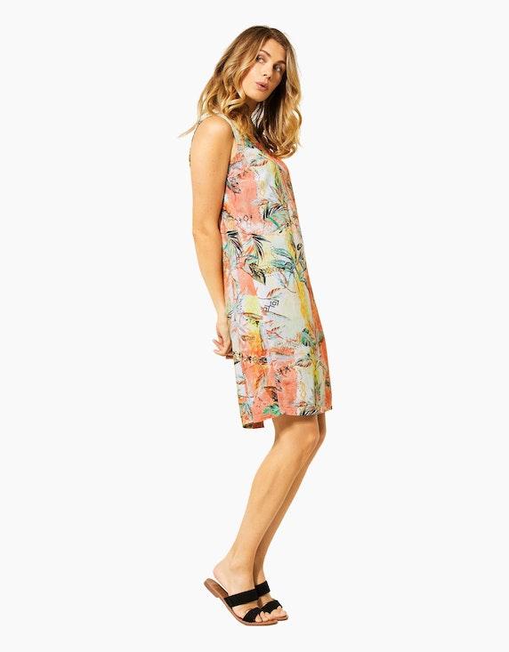 CECIL Kleid mit tropischem Muster, reine Viskose | ADLER Mode Onlineshop