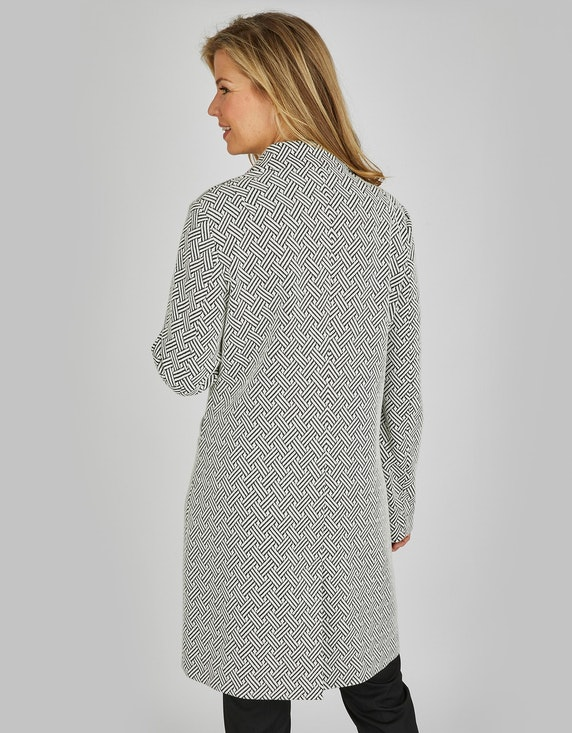 Bexleys woman Jacquard-Mantel mit Reverskragen | ADLER Mode Onlineshop