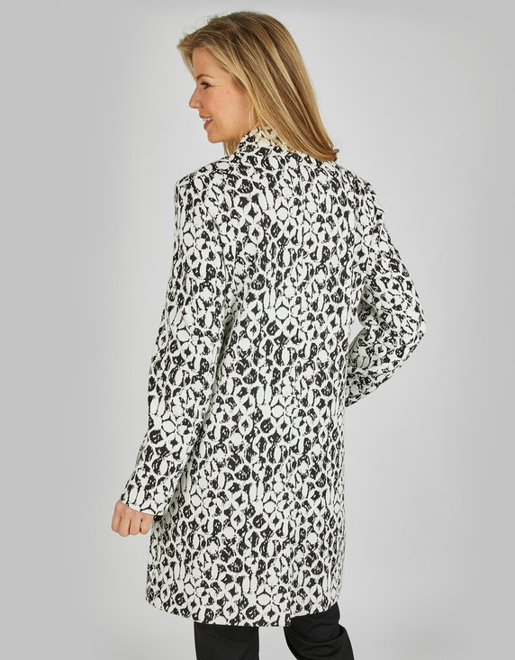 Bexleys woman Jacquard-Mantel mit Reverskragen   ADLER Mode Onlineshop