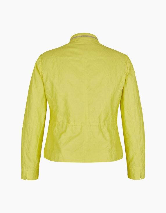 Steilmann Woman Jacke mit dekorativ geschmücktem Stehkragen | ADLER Mode Onlineshop