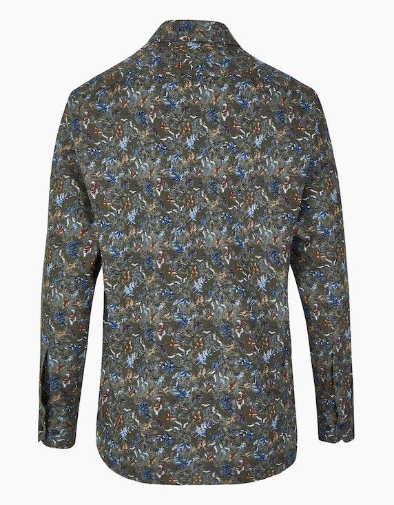 Marvelis Freizeithemd mit Blätterprint, MODERN FIT | ADLER Mode Onlineshop
