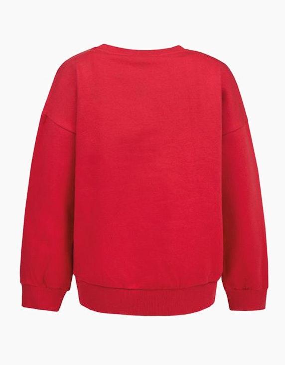 Tom Tailor Girls Sweatshirt mit Wording und Zierdetails | ADLER Mode Onlineshop