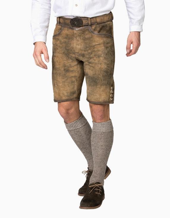 Stockerpoint Lederhose kurz | ADLER Mode Onlineshop
