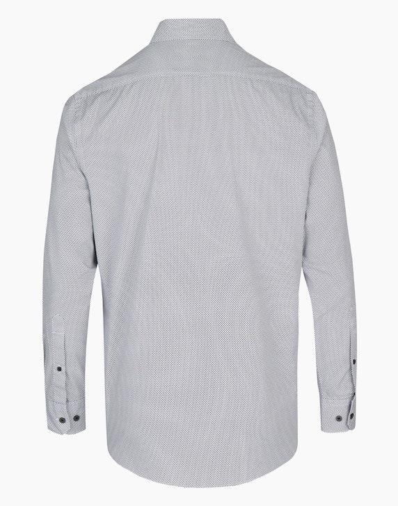 Bexleys man Gemustertes Freizeithemd mit Brusttasche, MODERN FIT | ADLER Mode Onlineshop