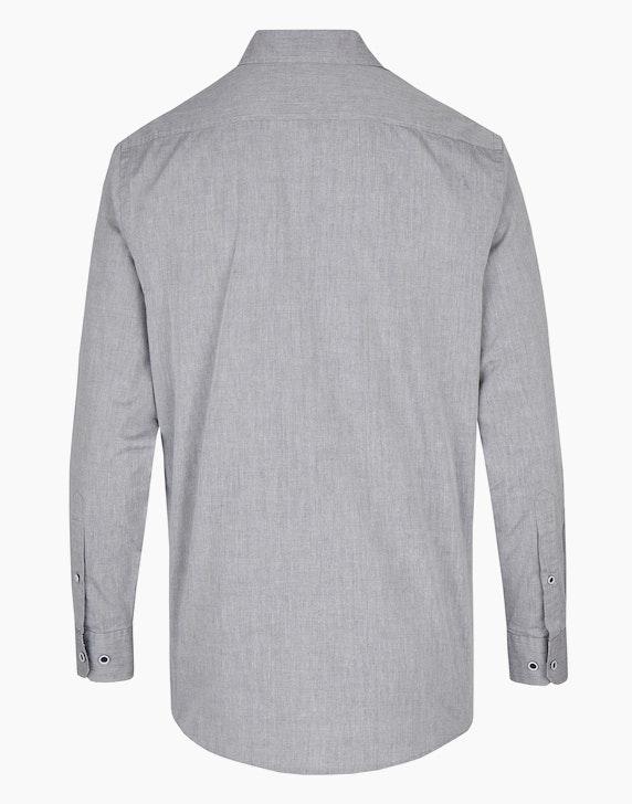Bexleys man Freizeithemd mit farblich abgesetzten Elementen, MODERN FIT | ADLER Mode Onlineshop