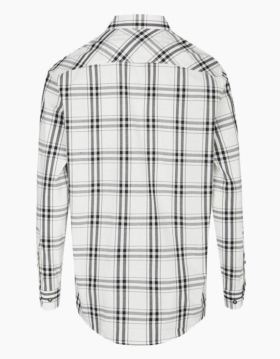 Bexleys man Freizeithemd mit Karomuster und zwei Patten-Brusttaschen, REGULAR FIT | ADLER Mode Onlineshop
