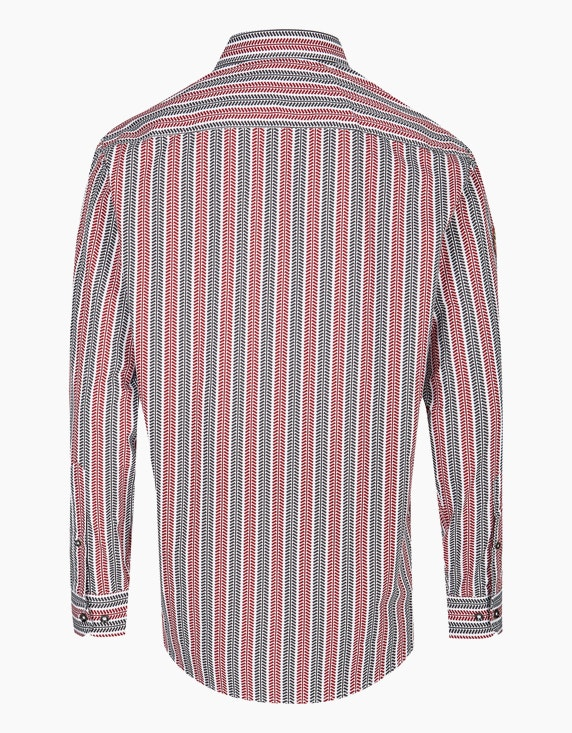 Bexleys man Gestreiftes Freizeithemd mit modischem Muster, REGULAR FIT | ADLER Mode Onlineshop
