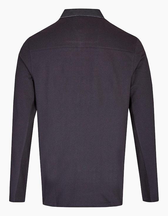 Eagle Denim Poloshirt mit Struktur | ADLER Mode Onlineshop