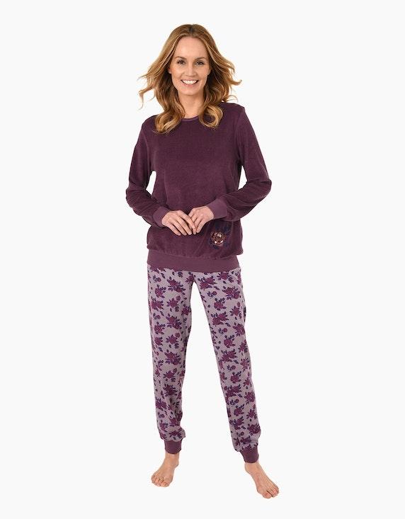 NORMANN Frottee Pyjama | ADLER Mode Onlineshop