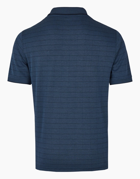 Bexleys man Polo-Shirt kariert | ADLER Mode Onlineshop