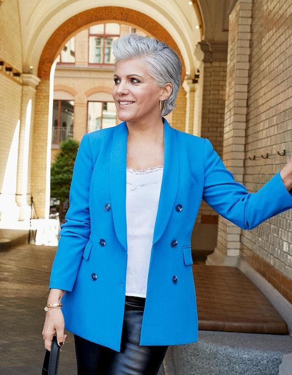 Birgit Schrowange Kollektion 2-reihiger Blazer | ADLER Mode Onlineshop