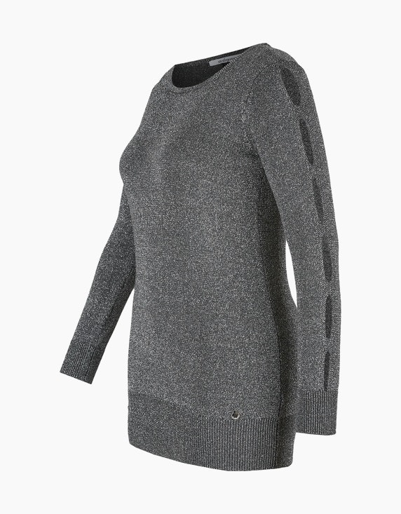 Steilmann Woman Pullover mit Cut-Out-Ärmeln | ADLER Mode Onlineshop
