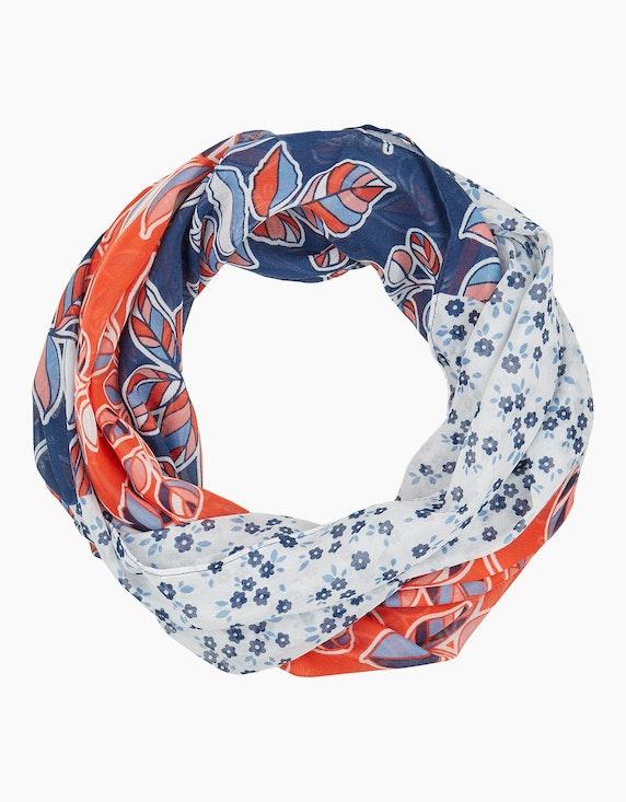 Steilmann Woman Loop-Schal mit floralen Drucken | ADLER Mode Onlineshop