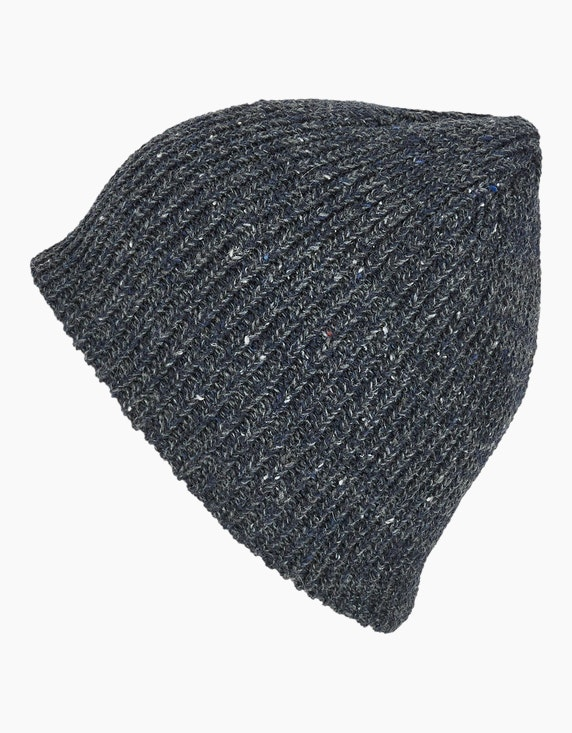 Bexleys man Strickbeanie in melange | ADLER Mode Onlineshop