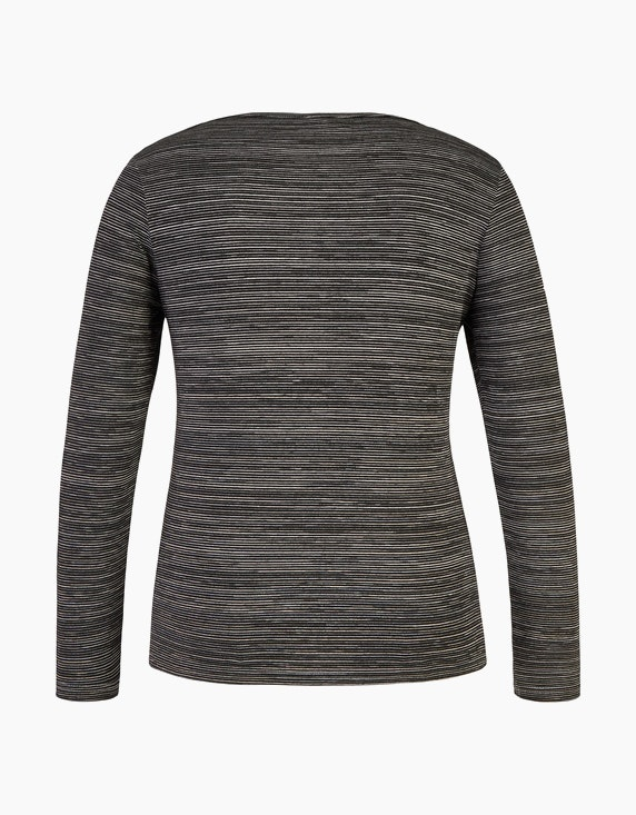 Bexleys woman Langarmshirt mit Strassbesatz   ADLER Mode Onlineshop