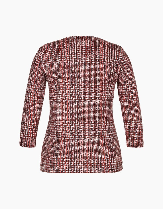 Roses & Angels Shirt mit Allover-Print aus Pima Cotton   ADLER Mode Onlineshop