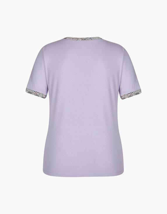 Bexleys woman Kurzarmshirt mit Bouclé-Bordüre   ADLER Mode Onlineshop