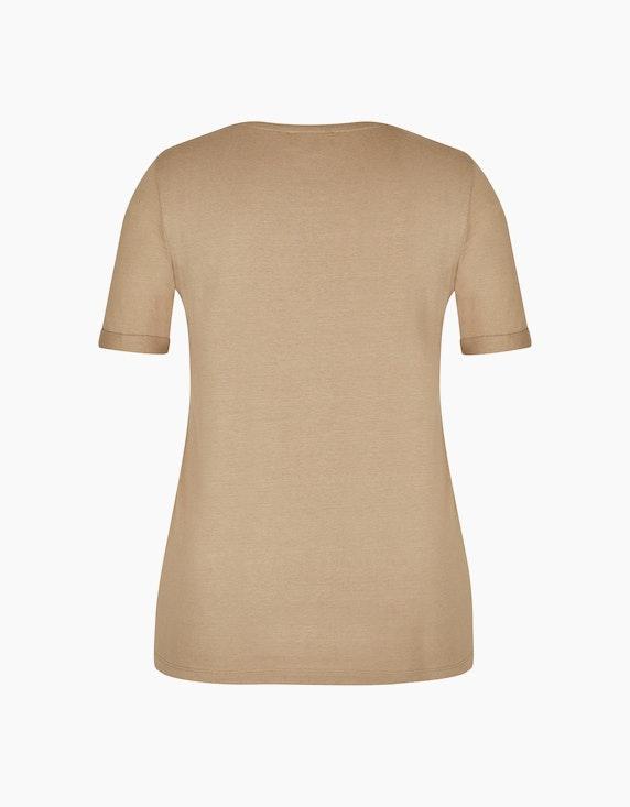 Bexleys woman T-Shirt mit Silberdruck   ADLER Mode Onlineshop