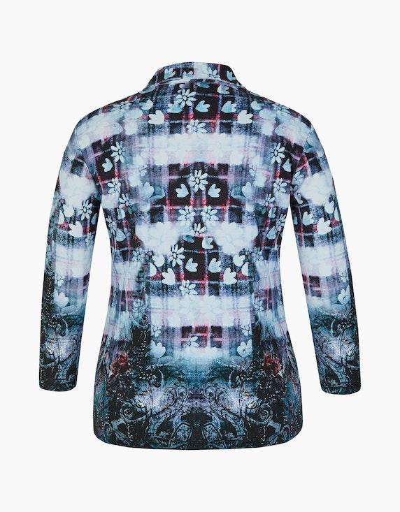 Roses & Angels Shirtjacke mit Strassbesatz | ADLER Mode Onlineshop