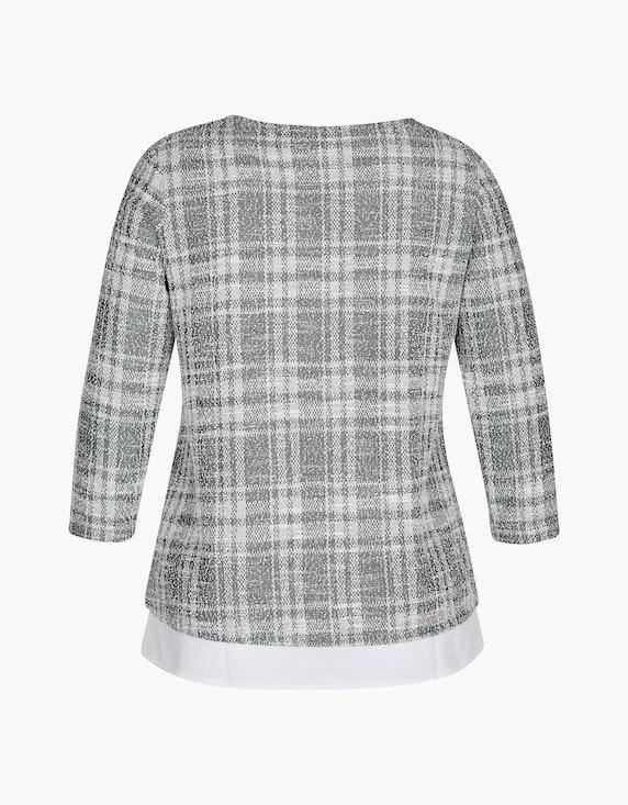 Bexleys woman Bouclé-Shirt in 2-in-1-Optik | ADLER Mode Onlineshop