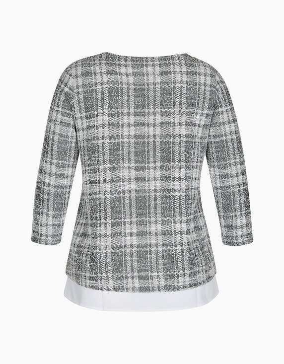 Bexleys woman Bouclé-Shirt in 2-in-1-Optik | ADLER Mode Onlineshop