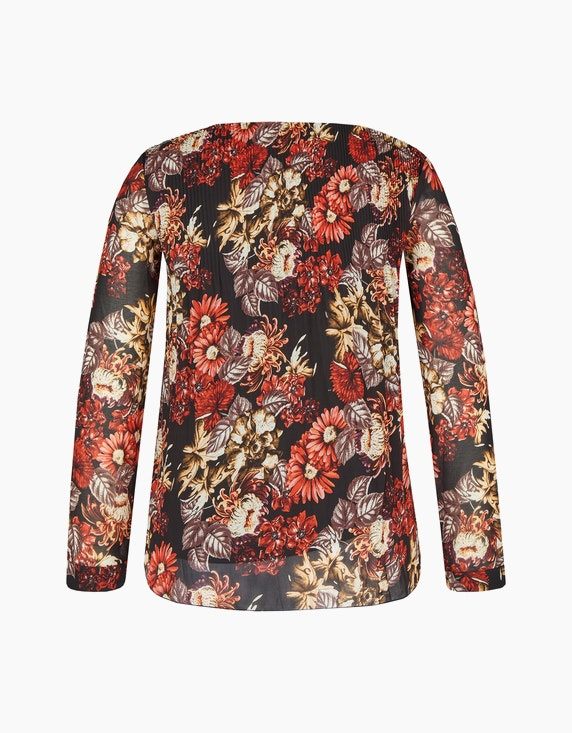 Bexleys woman Plissee-Bluse aus Chiffon | ADLER Mode Onlineshop